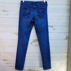 Ag Adriano Goldschmied Jeans - AG Middi Ankle 29R stretch crop skinny med wash